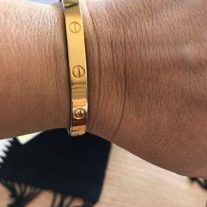 Aldo Cipullo-Charles Revson Love Cartier Bracelet